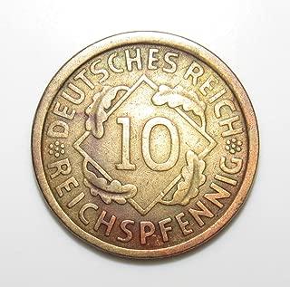 10 reichspfennig 1924
