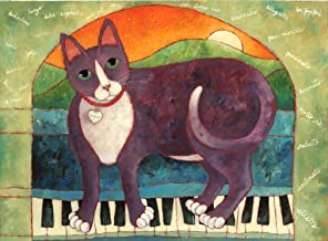 product image for Santa Fe Artist Lori Faye Bock Art Note Card Portfolio - Multiple Cats (12 Cards)