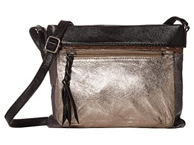 The Sak Sanibel Mini Crossbody (Metallic Multi) Cross Body Handbags
