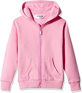 Kid Nation Kids' Soft Brushed Fleece Zip-Up Hooded Sweatshirt Hoodie for Boys or Girls,Age (4-12Years)