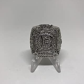 2010-11 Zdeno Chara Boston Bruins High Quality Replica 2011 Stanley Cup Championship Ring Size 11-Silver Colored US SHIPPING