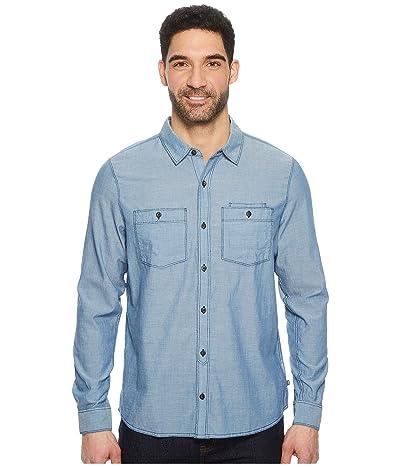 Toad&Co Honcho Dos Long Sleeve Shirt (Bright Indigo) Men