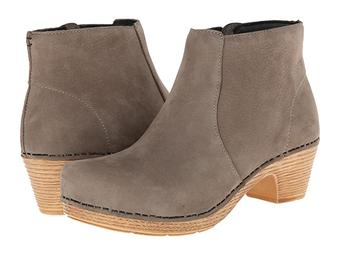 Dansko  Maria (Taupe Milled Nubuck) Womens Pull-on Boots