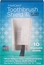 Intellident Antimicrobial Toothbrush Shields 10ct Pack of 2