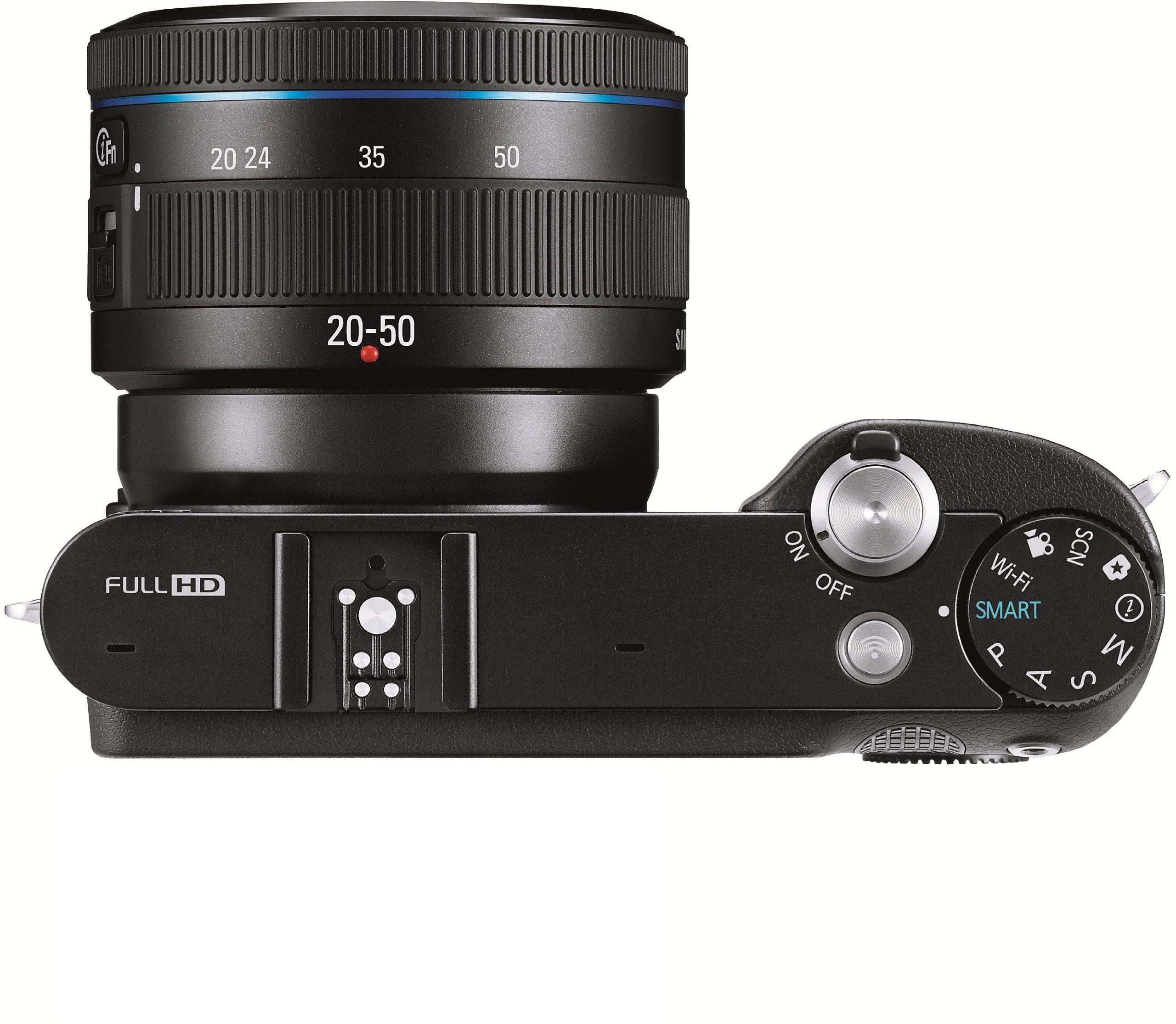 Samsung Cámara NX1000 + Objetivo NX 20-50 mm Negra: Amazon.es ...