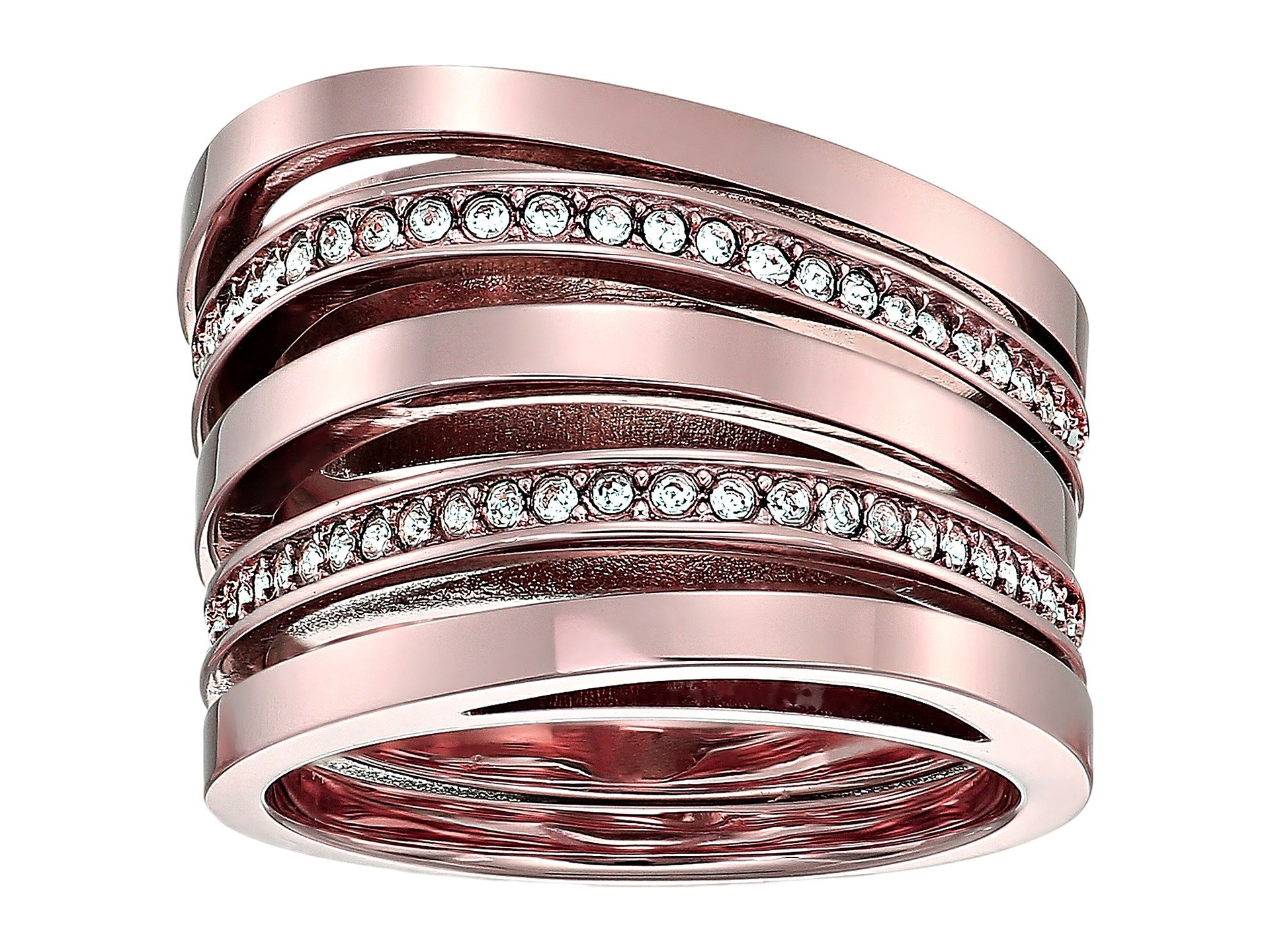 Anillo para Mujer Michael Kors Brilliance Stacked Pave Ring  + Michael Kors en VeoyCompro.net
