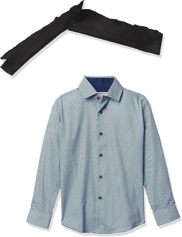 Isaac Mizrahi Boys' Classic Button Down Shirt