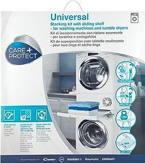 comprar comparacion Care+Protect - Kit de unión Universal de lavadoras y secadoras con Bandeja corredera - para Productos de Entre 47cm-62cm