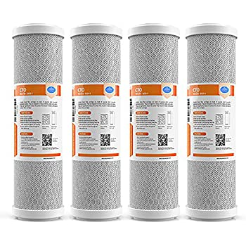 """20 x 2.5/"""" CTO Carbon Block Water Filter Whole House Cartridge 5 Micron"""