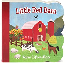 Little Red Barn Chunky Lift-a-Flap Board Book (Babies Love)