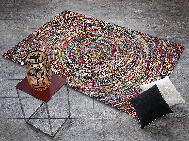INTERSTELLAR TORNADO Designer Hochflor Langflor Teppich in multiFarbe, multiFarbe, multiFarbe, Größe  120x170 cm B01LVW05SY fd68bd