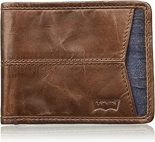 Levi's Leather Brown Men's Wallet (77173-0855)