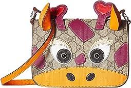GG Supreme Camel Handbag (Little Kids/Big Kids)