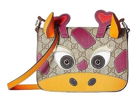 3d27e086b0f Gucci Kids GG Supreme Camel Handbag (Little Kids Big Kids) at Luxury ...