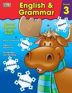 English & Grammar Workbook, Grade 3 (Brighter Child: Grades 3)