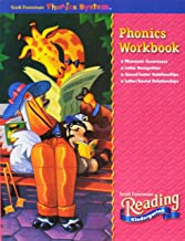 READING 2002 PHONICS WORKBOOK GRADE K