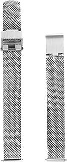 Skagen Women's 14mm Stainless Steel Mesh Watch Strap, Color: Silver (Model: SKB2035)