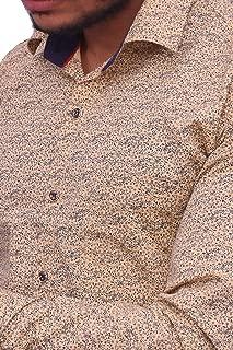 Official Shirt Sheetal Fashion Fab Men's Solid Long Sleeve Cotton Formal Shirts