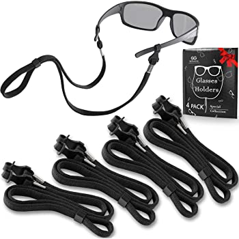 3x Sports Glasses Holder Cord Strap Retainer Rope for Sunglasses Eyeglasses