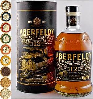 Aberfeldy 12 Jahre Single Malt Whisky  9 Edel Schokoladen in 9 Sorten