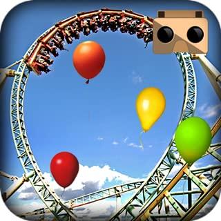 VR Roller Coaster Balloon Blast