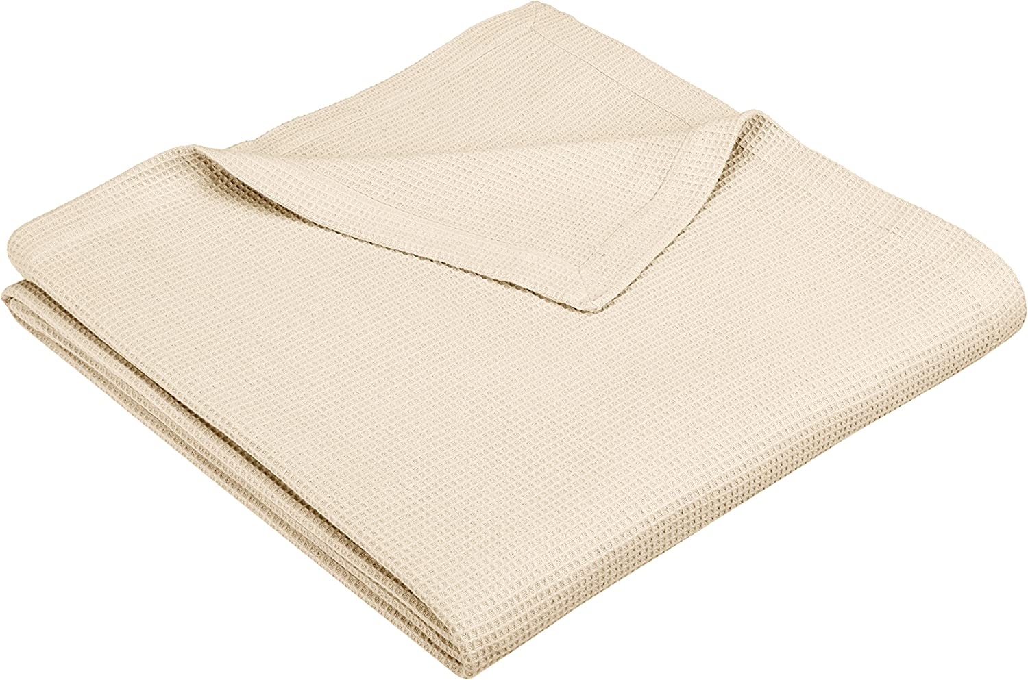 Pinzon Cotton Waffle Weave Blanket - Twin, Natural