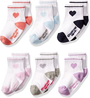 OshKosh B'Gosh OshKosh Quarter Crew Socks for Baby...