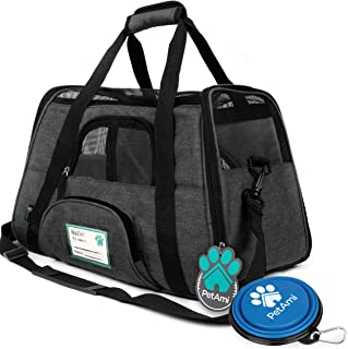 PetAmi Premium Airline Approved Soft-Sided Pet Travel Carrier   Ventilated, Comfortable..