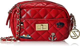Zeneve London Crossbody Bag For Women, Red, 119183049154
