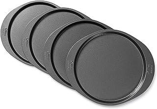 Wilton 2105-0188 4 Pieces Cake Pan Set, 8 Inches, Round