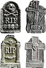 Quickdraw - Set di 4 Pietre per cimitero, 30,5 cm, Decorazione per Halloween