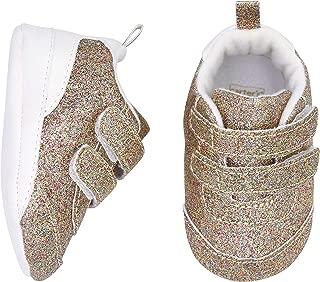 Baby Girl Soft Sole Glitter Sneaker