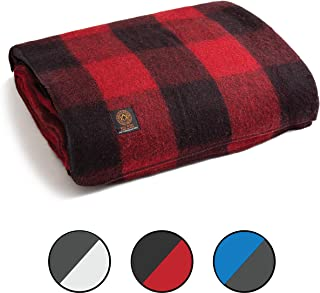 Arcturus Mt. Rainier Wool Blanket - 4.4lbs, Warm, Washable, Large | Great for Camping, Outdoors, Survival & Emergency Kits