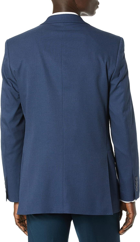 Haggar Men's Travel Performance Solid Gab Tailored Fit Suit Separate Coat