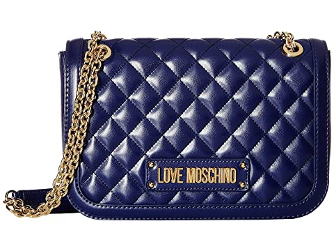 LOVE Moschino Shinny Quilted Shoulder Bag
