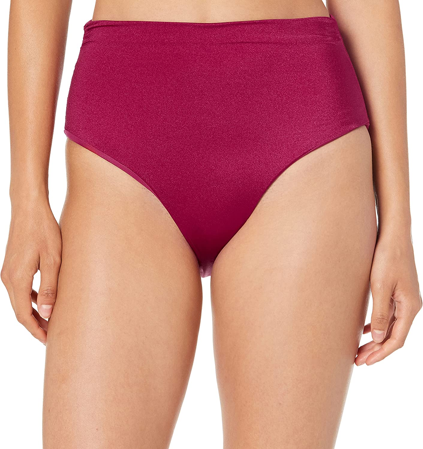 TAHARI Women's Special price for a limited time Ruched Transformable High Swi Bottom Bikini Waist 2021 new