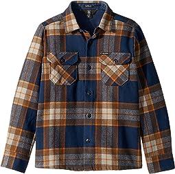 Randower Long Sleeve Flannel Shirt (Big Kids)