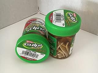GULP Bait 1 INCH LUMA GLOW MINNOW 2 jar bundle BERKLEY gulp Alive perch minnows ice fishing bait Panfish minnows
