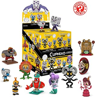 Funko Mystery Minis: Cuphead (one Figure) Collectible Figure, Multicolor