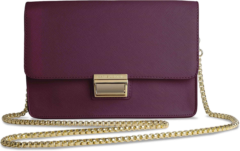 Katie Loxton  Anya Box Bag  Burgundy