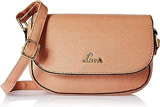 Lavie Denali Women's Sling Bag  (Peach)