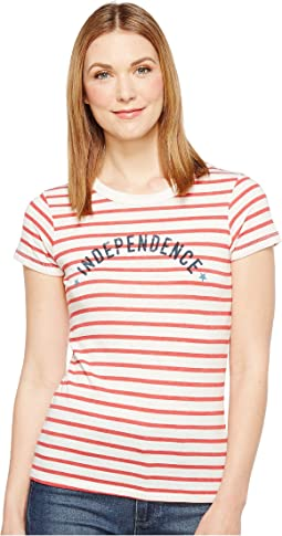 Red Riviera Stripe Independence
