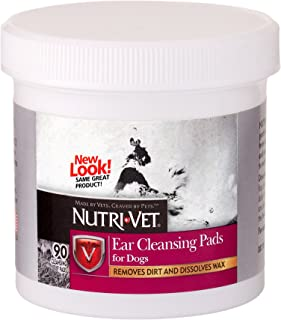 Nutri-Vet Ear Cleaning Medicated Pads, 90 count