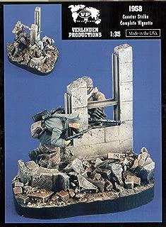 Verlinden VER1958 1:35 Vignette - Counter Strike [Model Building KIT]