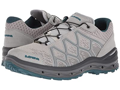 Lowa Aerox GTX Lo Surround (Light Gray/Petrol) Women