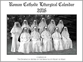 Liturgical Calendar 2016, Roman Catholic