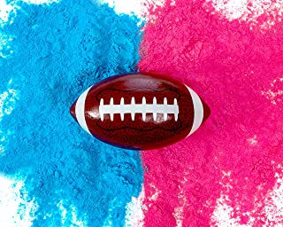 Gender Reveal Football | Blue and Pink Powder Kit | Gender Reveal Party Supplies | Ultimate Party Supplies