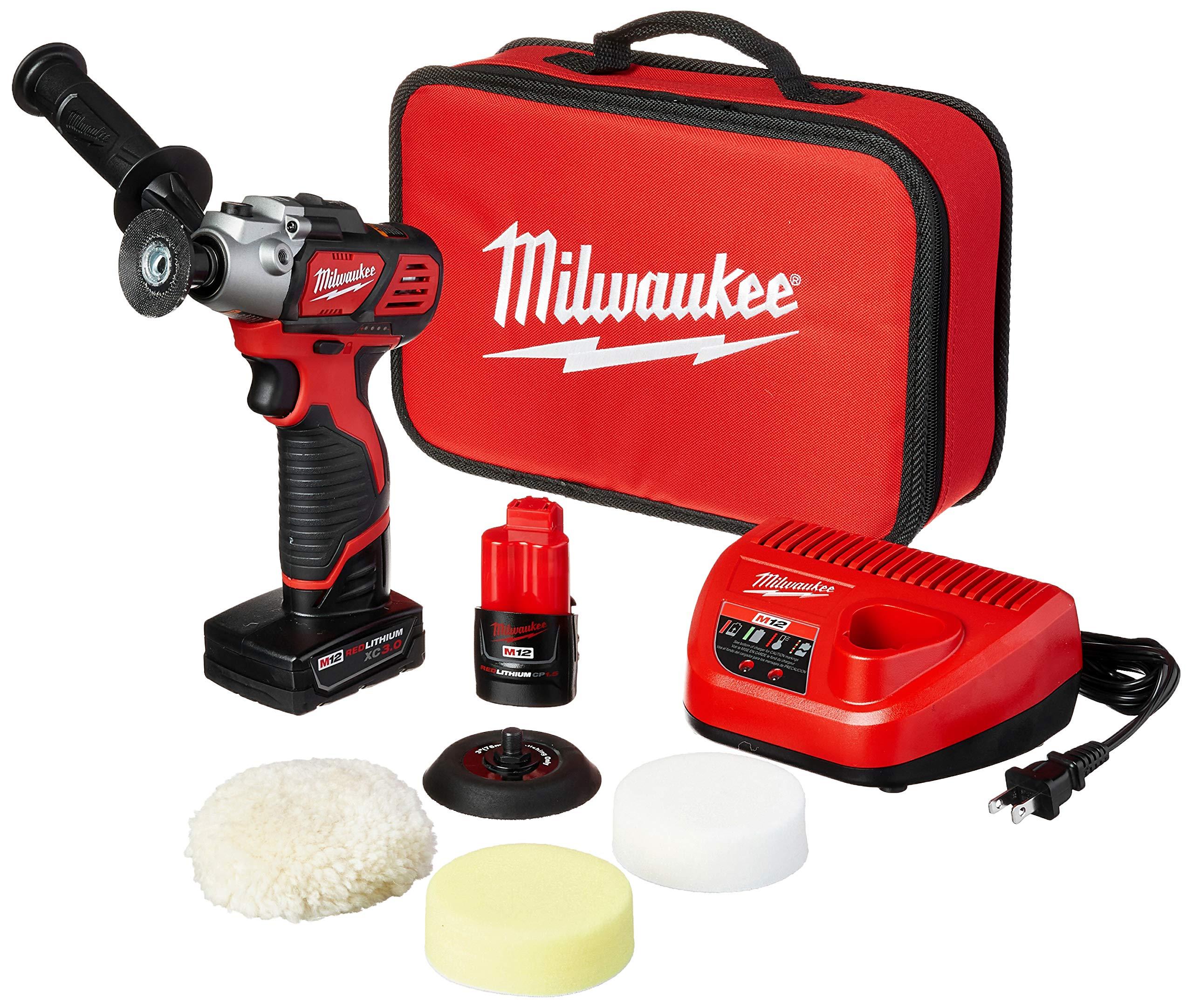 Milwaukee 2438 22X Variable Polisher Sander