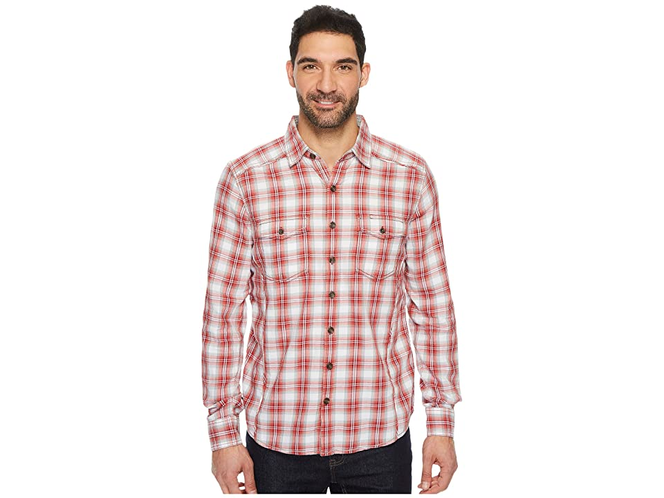 Ecoths Dax Long Sleeve Shirt (Biking Red (Prior Season)) Men
