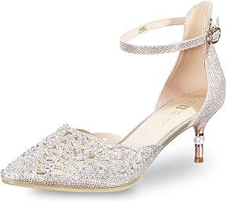 Women's IN2 Candice Rhinestones Sequins Mid Heels...